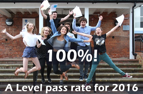 A Level Results Day 2016