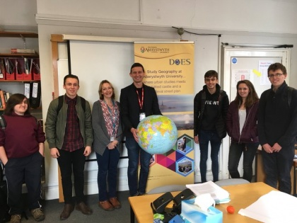 Geography students awarded Scholarships to study at Aberystwyth University