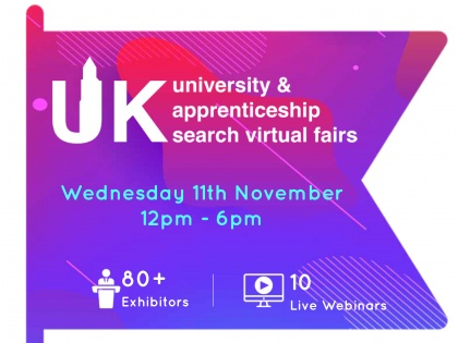 UK University & Apprenticeship Search Virtual Fair