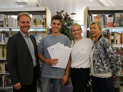 Ludlow College Achieves a 100% Pass Rate!
