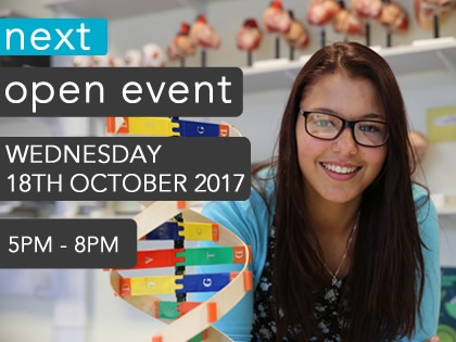 Open Event - 18th October 2017