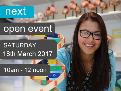 Open Event - 18th March 2017