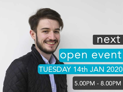 Next Open Event